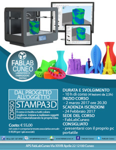 corso stampa3d